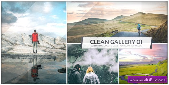 Videohive Clean Photo Gallery - Image Slide Opener