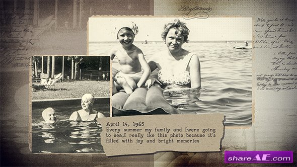 Videohive History In Photographs 2
