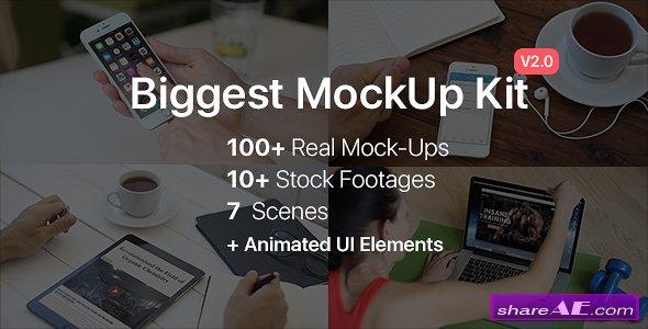 Videohive Biggest MockUp Kit // Digital Device Mockups