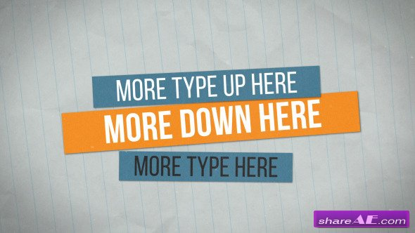 Videohive Jitter Titles
