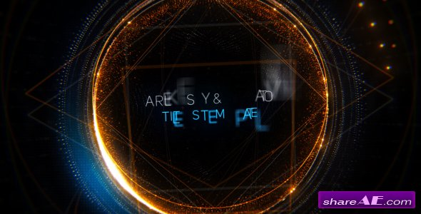 Videohive Geometry Titles Trailer