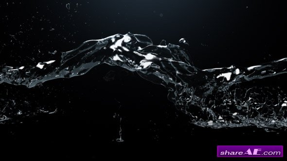 Videohive Watertrail Logo Reveal