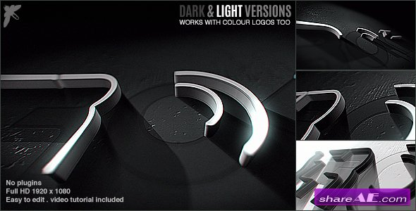 Videohive 3D Stroke Logo » free after effects templates | after