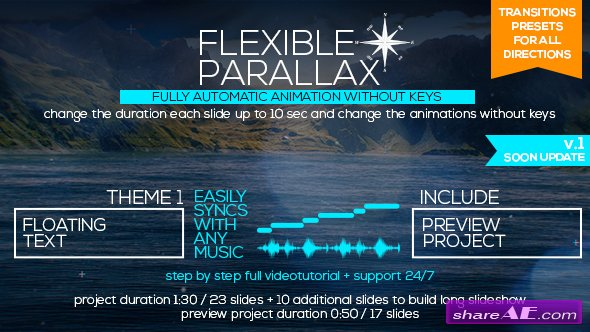 Videohive Flexible Parallax Slideshow_Floating Text