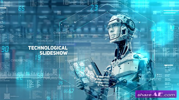 Videohive Technological Slideshow