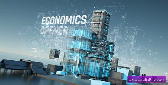 Videohive Economics Opener