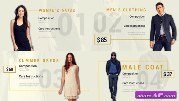 Videohive Fashion Collection Free After Effects Templates After Effects Intro Template Shareae