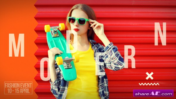 Videohive Fashion Event Opener