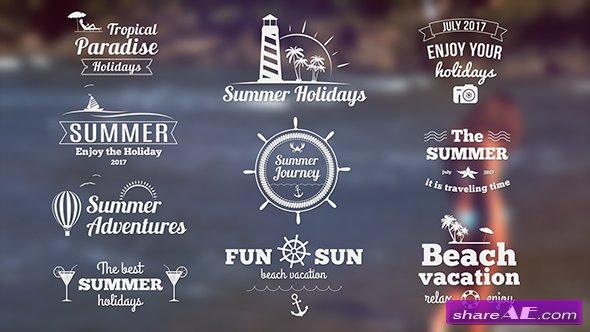 Videohive Summer Banners II