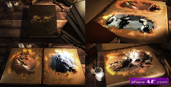 Videohive Epic Book