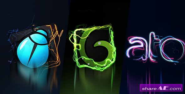 Videohive Electric logo intros