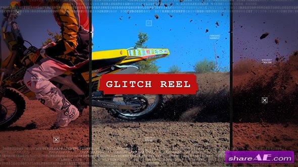 Videohive Glitch Reel