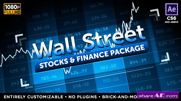 Videohive Wall Street - Stock Market and Finance Package