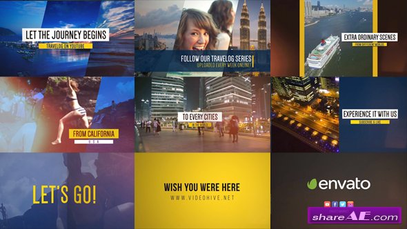 Videohive Fast Video Blog Promo