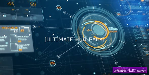 Videohive Ultimate HUD Pack