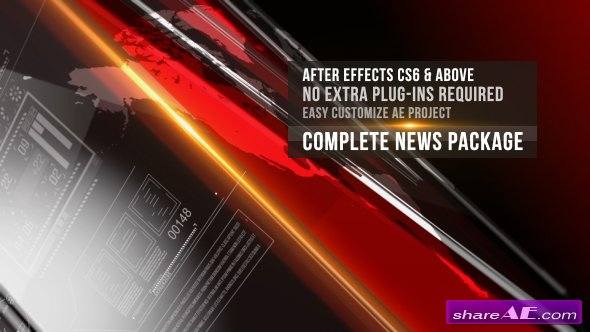 Videohive News Complete Package