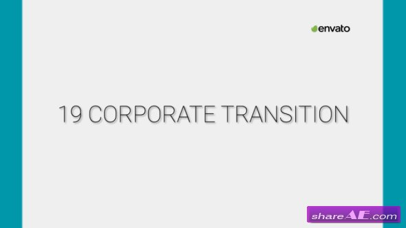 Videohive Clean Corporate Transitions 19593200