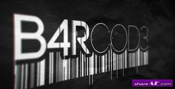 Videohive Barcode Reveal