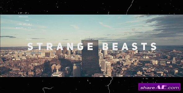 Videohive Strange Beasts