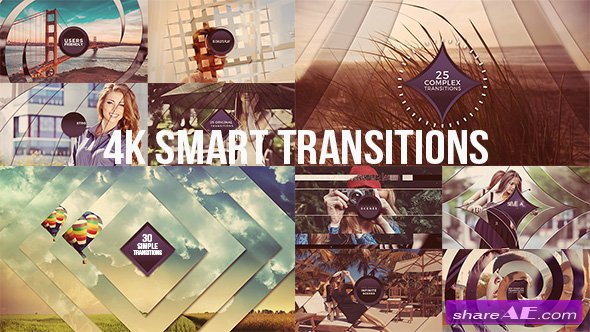Videohive 4K Smart Transitions