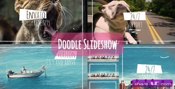 Videohive Doodle Slideshow