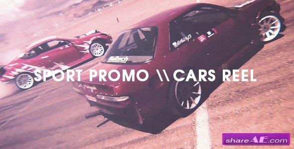 Videohive Sport Promo - Cars Reel