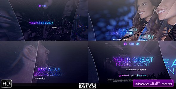 Videohive The Great Music Event