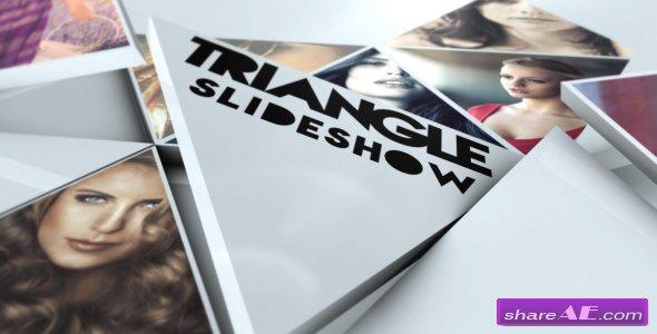 Videohive Triangle Slideshow