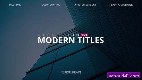Videohive Modern Titles 19592033