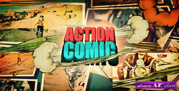 Videohive Action Comic