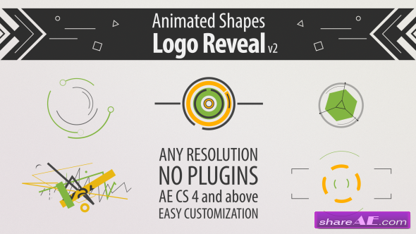 Videohive Shape Animation Logo Reveal v2
