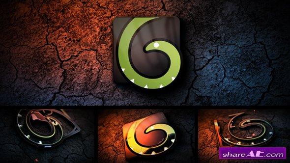 Videohive Dark Grunge Logo