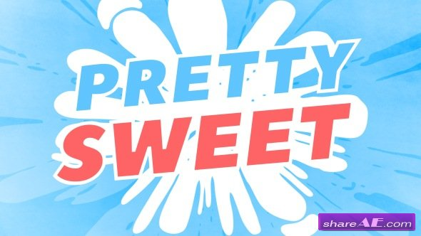 Videohive Pretty Sweet - 2D Animation Toolkit