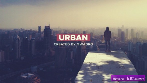 Videohive Dynamic Urban Intro