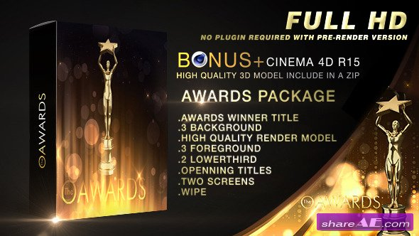 Videohive Awards Show Package 12244334
