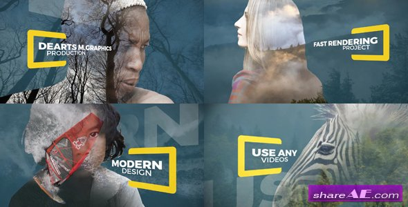 Videohive Parallax Double Exposure