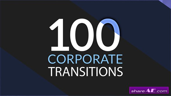 Videohive 100 Corporate Transitions