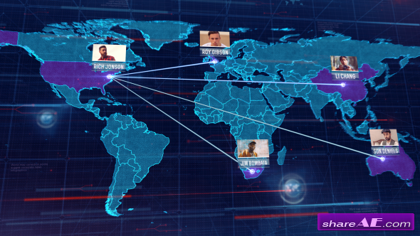 Videohive World Map