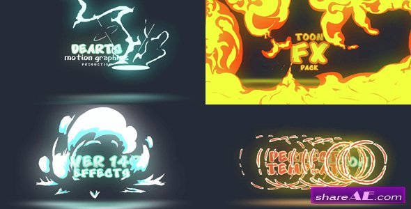 Videohive Toon FX Pack