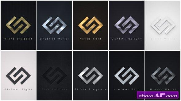 Videohive Elegant Logo Reveals Pack 2