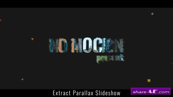 Videohive Extract Parallax Slideshow