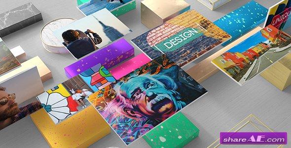 Videohive Stylish Photo Gallery Slideshow