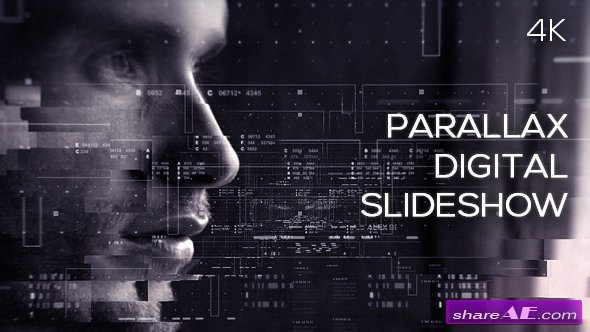 Videohive Parallax Digital Slideshow