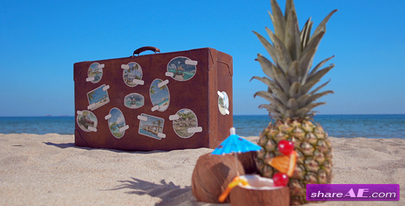 Videohive The Retro Suitcase - Holiday & Travel Promotion