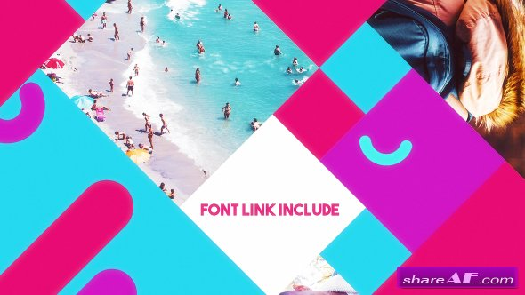 Videohive Simple Colorful Opener