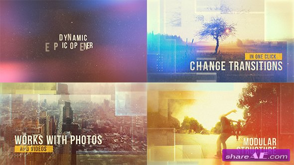 Videohive Dynamic Epic Opener