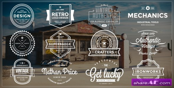 Videohive Authentic Vintage Titles