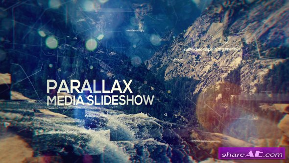 Videohive Parallax Media Slideshow