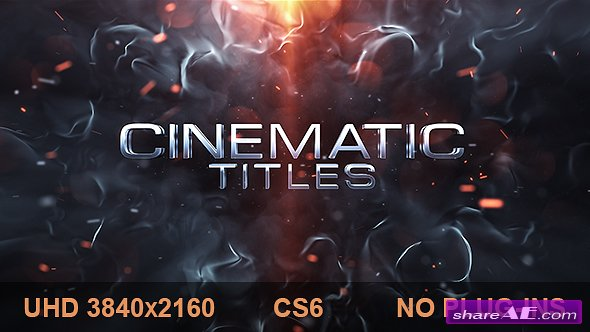 Videohive Cinematic Titles