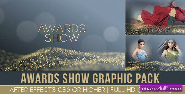 Videohive Award Show graphic pack